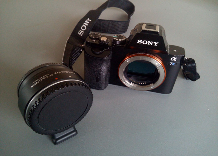 Sony A7s I + Fotodiox Pro AF Adapter EF - Canon - 1