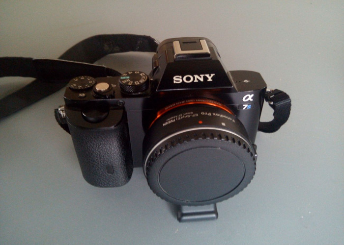 Sony A7s I + Fotodiox Pro AF Adapter EF - Canon - 2