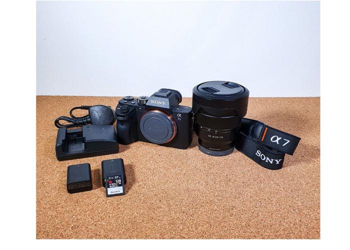Sony a7sII 24-70mm F4 Carl Zeiss Lens  - Sony a7s 2 II  - 2