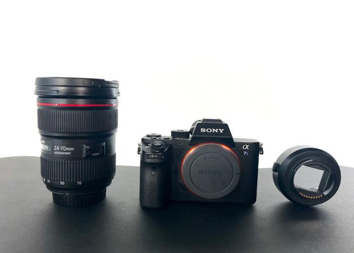 Sony a7s ii & Canon EF 24-70mm f/2.8L II USM Lens - 2