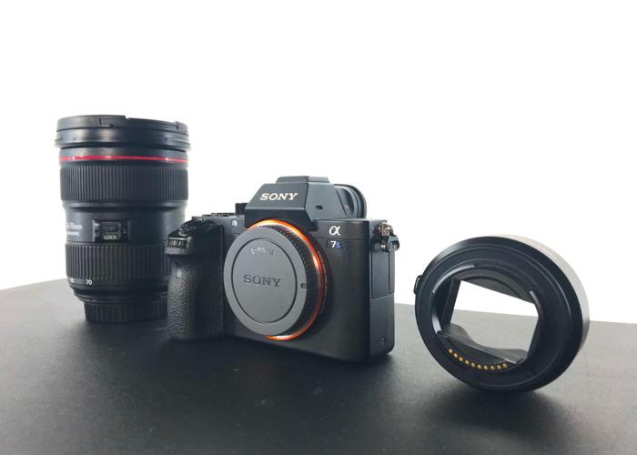 Sony a7s ii & Canon EF 24-70mm f/2.8L II USM Lens - 1