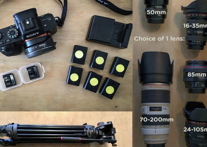 Sony a7S II + Metabones + 1 lens + tripod PACKAGE - 1