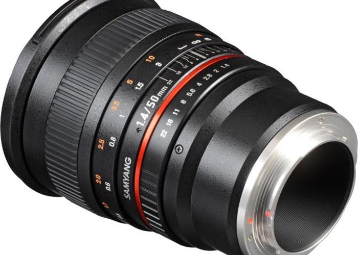 Sony A7S ii + Ronin S + Samyang 50mm f1.4 - 2