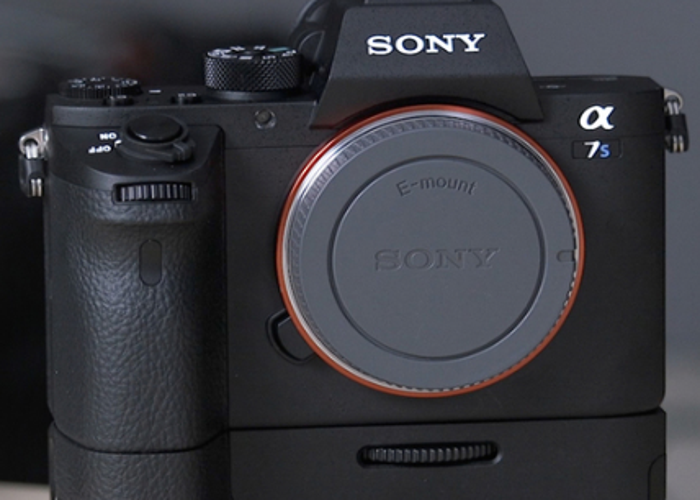 Rent Sony a7S ii 4K w/Metabones EF-E, Batt Grip & Card