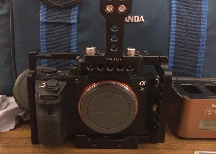 Sony A7s ii (2) full kit 4k Mirrorless DSLR camera w/ lens option - 2