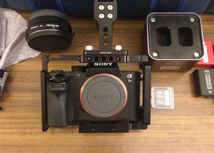 Sony A7s ii (2) full kit 4k Mirrorless DSLR camera w/ lens option - 1