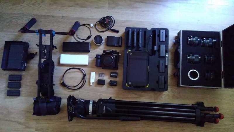 Sony A7S II Shooting Kit - 2