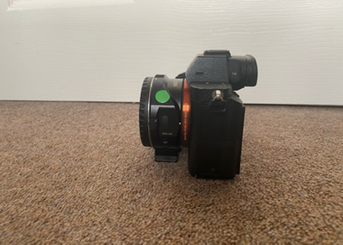 Sony A7s ii with Metabone Adapter - 2