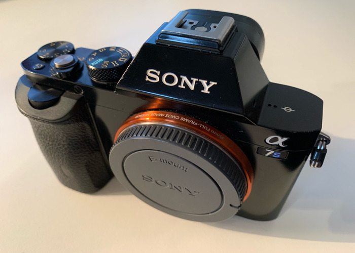 Sony A7S Mark i, EF Adapter, x8 batteries & Charger - 1