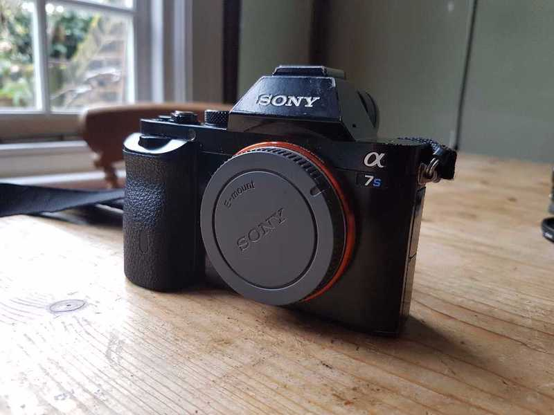 Sony A7S Mirrorless Digital Camera with Lens - 1