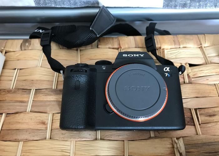 Sony A7S MKii Shooting Kit PLUS Lenses, Mic, Tripod, Rig, small LED - 2