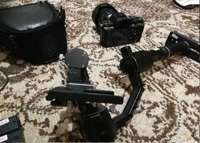 Sony A7Sii + 24-70mm lens+ Zhiyun Crane Tech Gimbal - 1