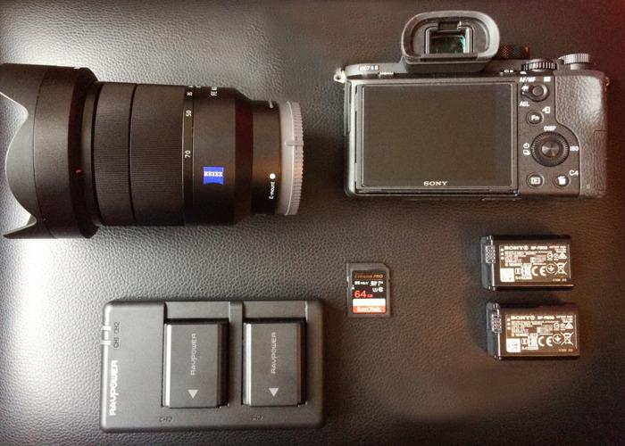 Sony A7Sii + Leds bundle - 1