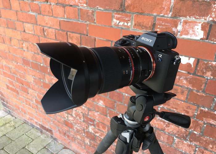 Sony A7Sii Camera with 24mm Lens and E-Mount Adaptor - 1