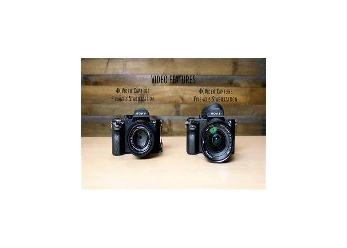 Sony a7sii + 55mm 1.8 Sony FE Lens  - 1