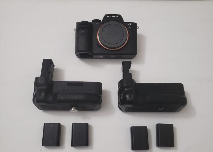Sony A7S II + DJI RONIN M + DJI MAVIC PRO + 3 ROKINON CINEMA LENSES (1.5-24MM, 50MM, &85MM) + LILLIPUT A7S monitor w/hdmi cord and mounting arm - 1