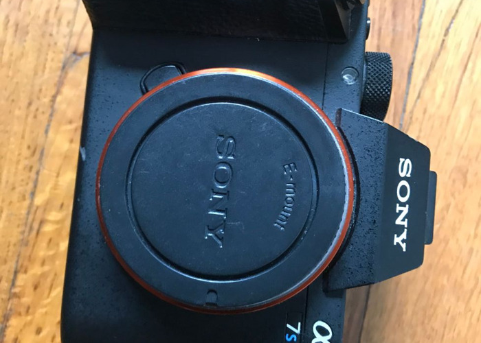 Sony A7sii body with 256GB SD and batteries - 1