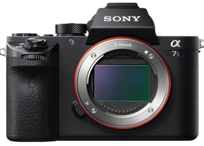 Sony A7sII Mirrorless Cinema Video & Still Camera - 1