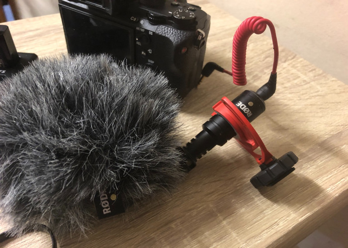 sony a7sii and  RODE mic - 2