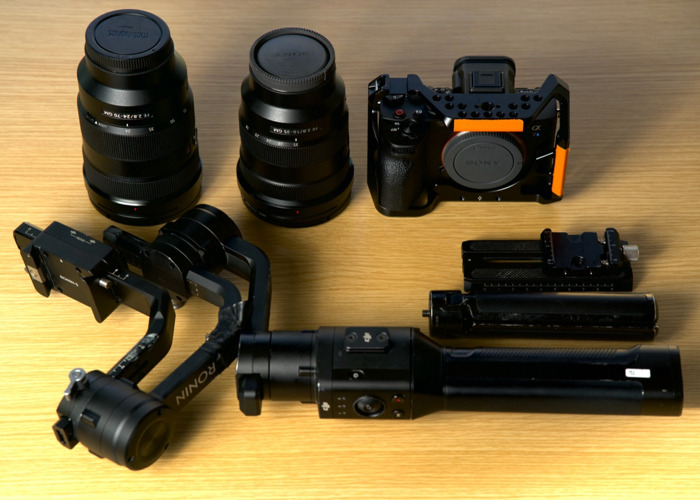 Sony A7siii + 24-70 GM +16-35 GM + DJI Ronin S (Pros Only) - 1