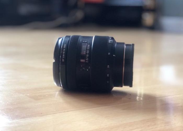 Sony Alpha 16-50 A Mount 2.8 SSM - 1