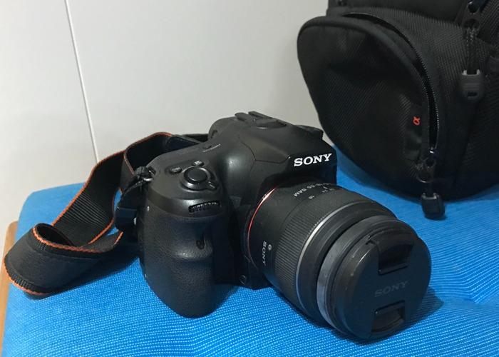 Sony Alpha 57 Interchangeable Lens Camera with 18-55 Lens Ki - 1