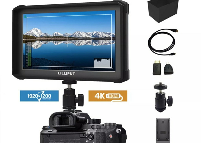 Sony Alpha A6300 W/Sigma/Sony lens, Ronin Gimbal & more - 2