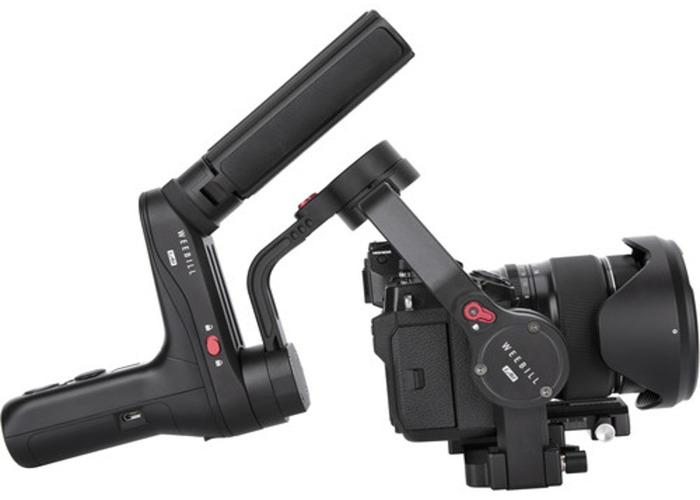 Sony Alpha A7 III Full Frame 4K Cine Camera+Samyang 18 or 35mm f2.8 AF + Zhiyun Weebill Lab Lightweight Gimbal - 2