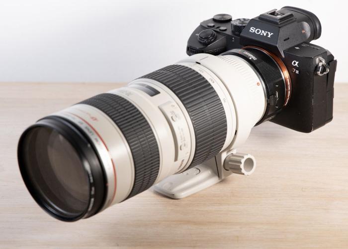 Sony Alpha A7 III Mirrorless Camera Cine 4K+Metabones Canon EF Smart Adapter + Canon 16-35mm f2.8 L II / 24-70mm f2.8 / 70-200mm f2.8 L - 2