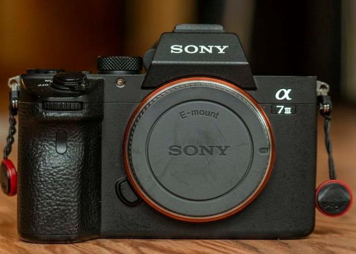 Sony Alpha a7 III mk 3 Mirrorless Digital Camera (Body) - 2