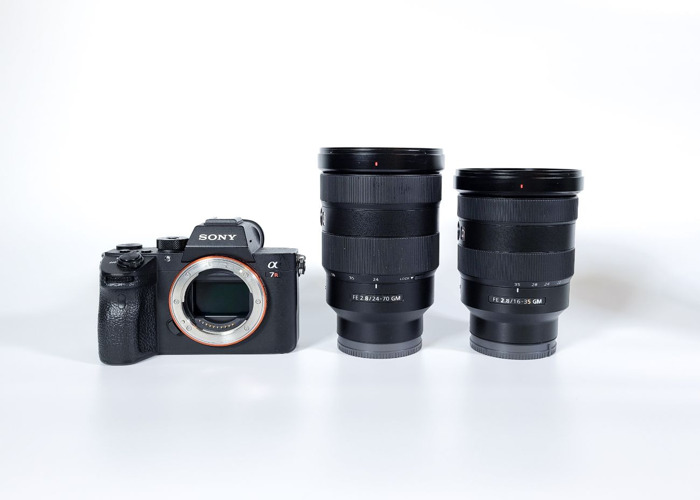 Sony Alpha a7R3 III 3 Mirrorless Digital Camera + Sony FE 16-35mm f/2.8 GM Lens + Sony FE 24-70mm f/2.8 GM Lens - 1