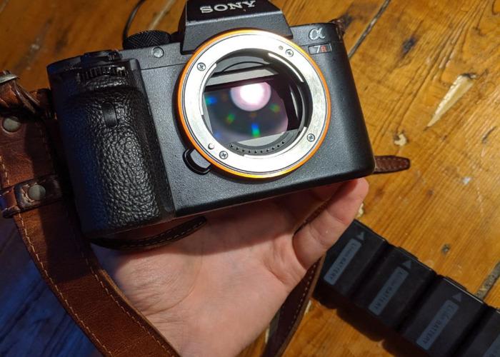 Sony Alpha A7rii (A7R2) 42mp 4k Fullframe Digital Camera wi - 2