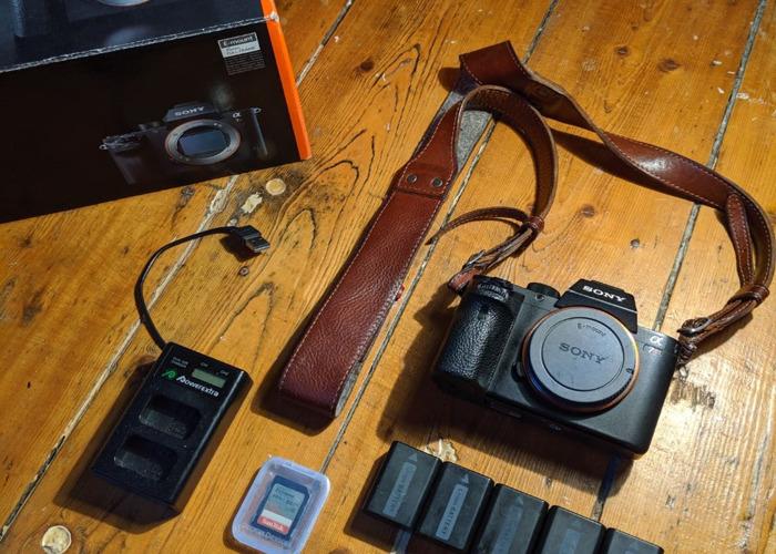 Sony Alpha A7rii (A7R2) 42mp 4k Fullframe Digital Camera wi - 1