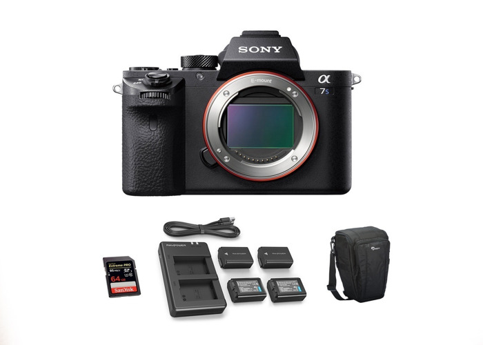 Sony Alpha a7S II Mirrorless Camera – Body Only - 2