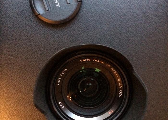 Sony Carl Zeiss Vario-Tessar T* FE 24-70mm f/4 ZA OSS - 2