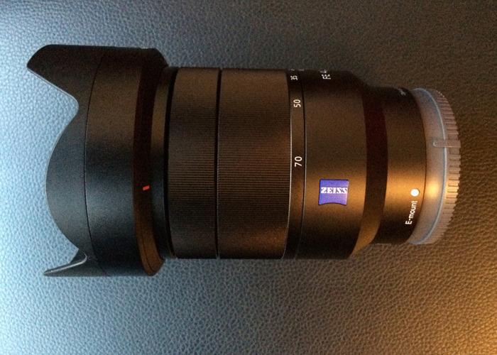Sony Carl Zeiss Vario-Tessar T* FE 24-70mm f/4 ZA OSS - 1