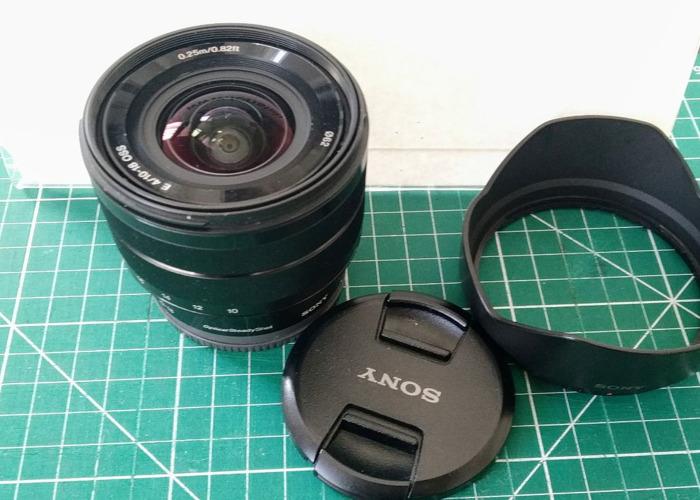 Sony E 10-18mm f4 OSS Lens - 1