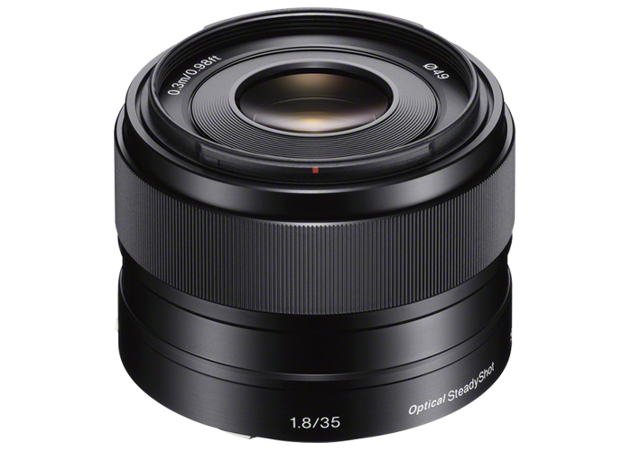 Sony E 35mm f1.8 OSS Lens - 1