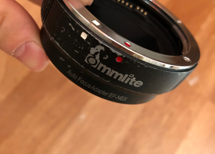Sony E mount to EF af adapter  - 1
