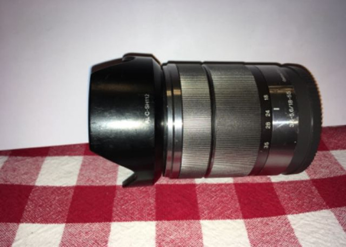 Sony E-mount 18-55 Zoom Lens - 2