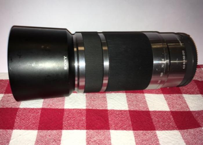 Sony E-Mount 55-210 Zoom Lens - 1