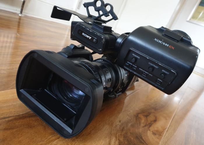 Sony EX3 HD Video Camera plus extras - 1
