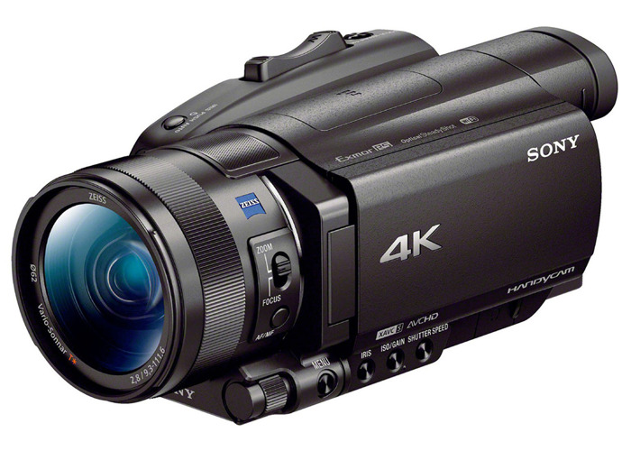 Sony FDR-AX700 4K HDR Camcorder / Camera - 2