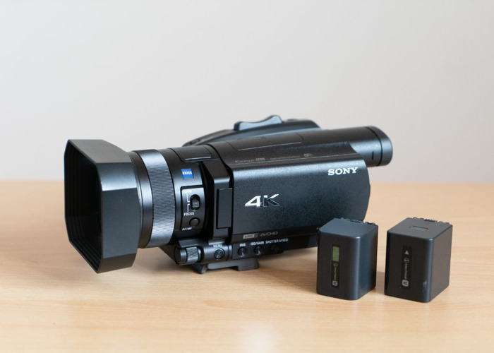 Sony FDR-AX700 4K HDR Camcorder / Camera - 1