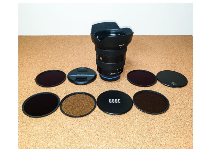 Sony FE 16-35mm f/2.8 GM Lens G Wide Angle Lens + ND Filters - 1