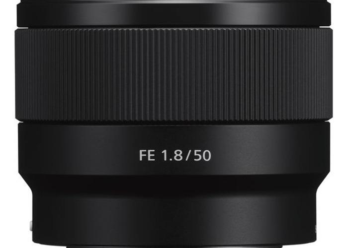 Sony FE 1.8 50mm lens - 1