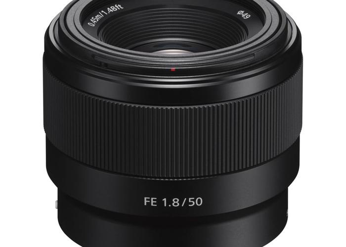 Sony FE 1.8 50mm lens - 2