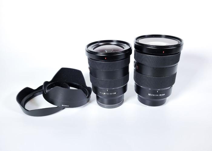 Sony FE 24 - 70 mm f/2.8 GM Lens - Sony FE 16 - 35 mm f/2.8 GM Lens , Sony FE 24 - 70 mm f/2.8 GM Lens - Sony FE 16 - 35 mm f/2.8 GM Len - 1