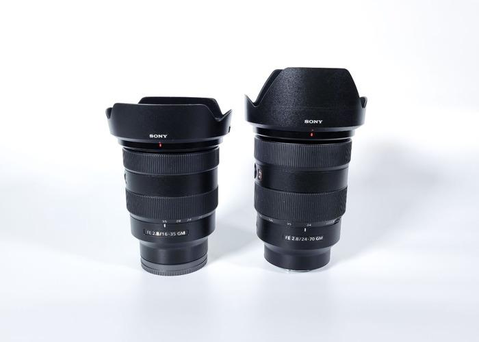 Sony FE 24 - 70 mm f/2.8 GM Lens - Sony FE 16 - 35 mm f/2.8 GM Lens , Sony FE 24 - 70 mm f/2.8 GM Lens - Sony FE 16 - 35 mm f/2.8 GM Len - 2