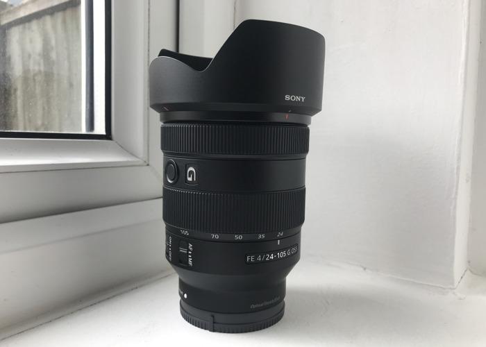 Sony FE 24-105mm F4 G OSS Lens  - 1